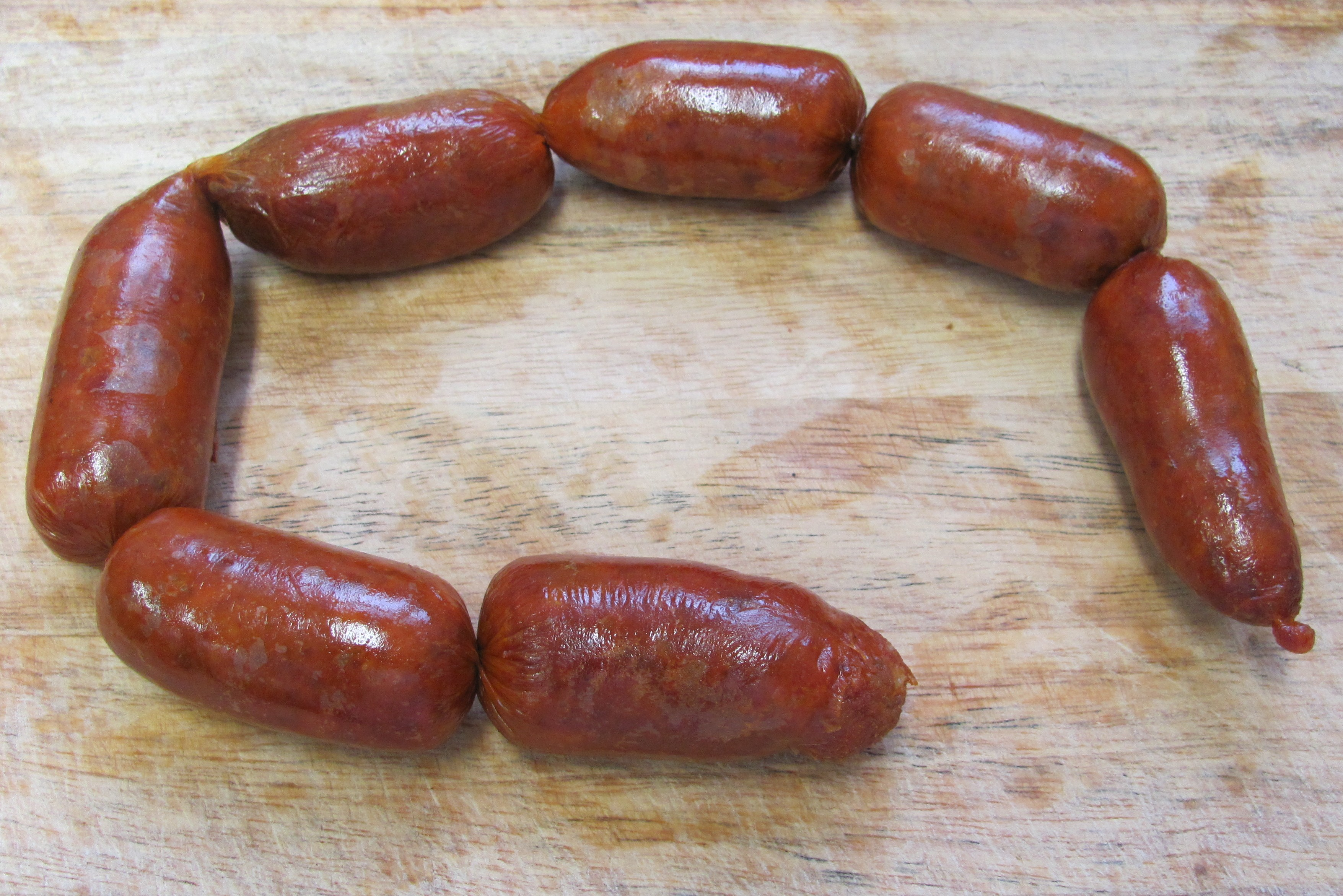 Cold-Smoked Sausages  ...